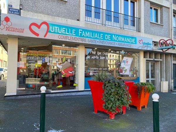 vitrine agence de Lisieux